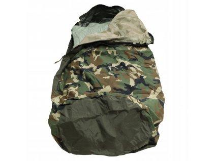 Povlak na spací pytel ( žďárák) nepromokavý Modular 3-vrstvý laminát woodland Bivy Cover