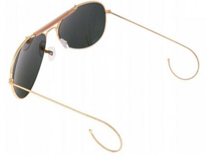 Brýle US AIR FORCE sluneční zrcadlovky