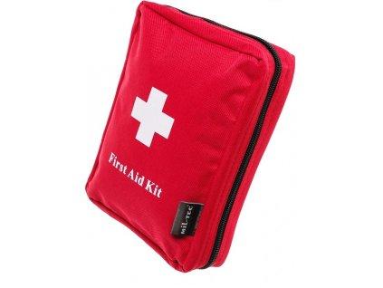 Lékárnička cestovní červená FIRST AID KIT MOLLE Miltec velká