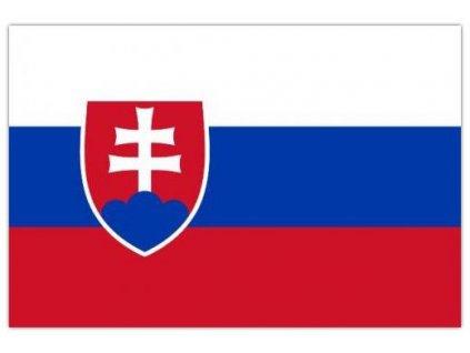 Vlajka Slovensko 90x150cm č.58