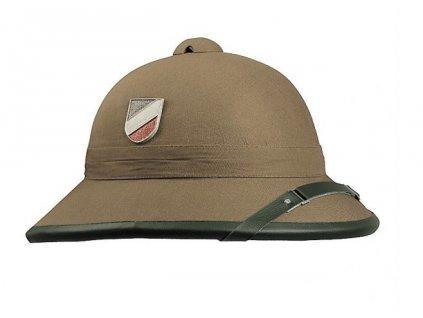 Helma (klobouk,přilba) německá WH Afrikakorps (Afrika Korps) tropická