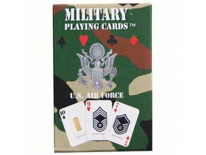 Hrací karty US AIR FORCE