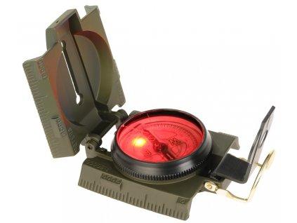 Kompas Ranger kovový s diodou Miltec