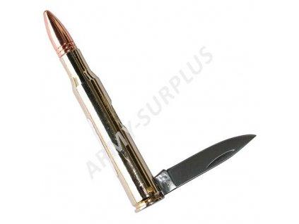 Nůž zavírací náboj patrona velká