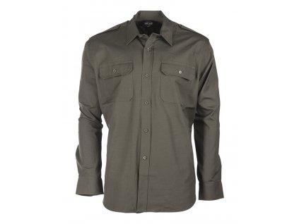 Košile oliv ripstop