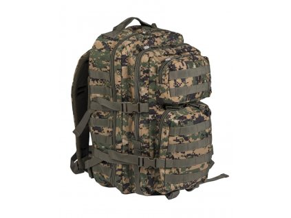 Batoh ASSAULT Pack US 36L molle Marpat digital woodland Large Miltec