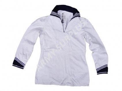 Košile BW (bundeswehr) Německo námořní Marine s límečkem bílá originál