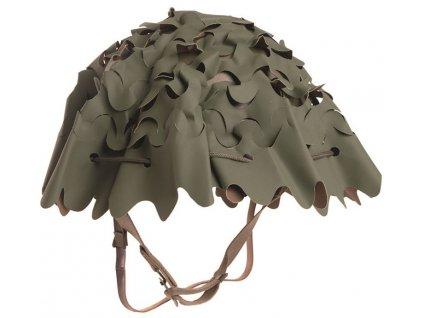 Potah (povlak,obal,převlek) 3D PVC na helmu Francie M51 oliv/coyote originál