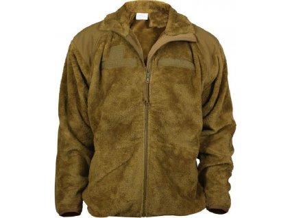 Mikina (bunda) US Jacket fleece generace III / level 3. Teesar Inc coyote