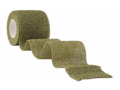 Lepící páska k maskování elastická oliv 15933001