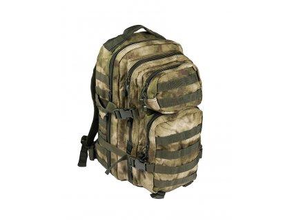 Batoh ASSAULT Pack US 20L molle A-TACS ATACS ICC FG malý Miltec