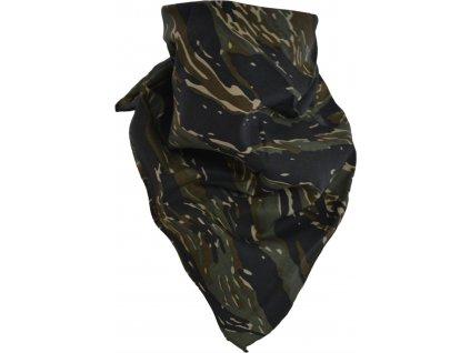 Šátek potisk Tiger čtvercový