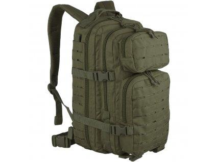 batoh-assault-pack-us-20l-molle-sm-laser-cut-oliv-miltec