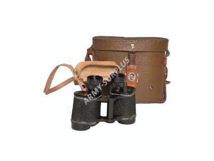 Dalekohled triedr binocular 8 x 30  armádní Polsko WP 1965 originál s pouzdrem