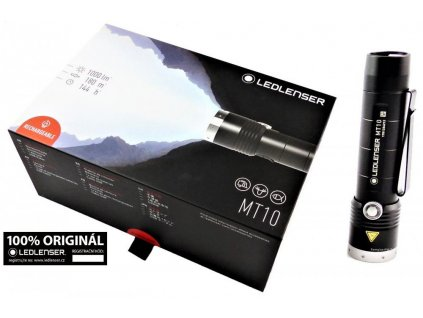 Ledlenser MT10 taktická svítilna (baterka) 1000 lm nabíjecí USB záruka 7 let