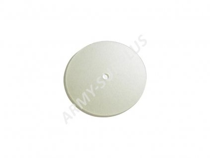 Sada 10ks gumový těsnící disk ventilu US pro plynové masky čirý (průhledný)