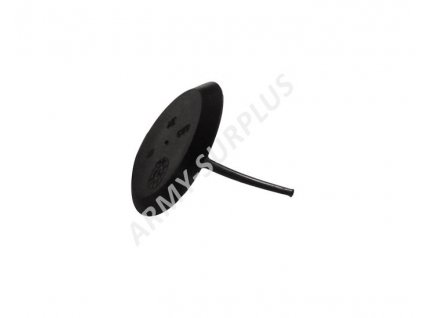 Polopropustný dýchací ventil (membrána) pro plynovou masku US černý