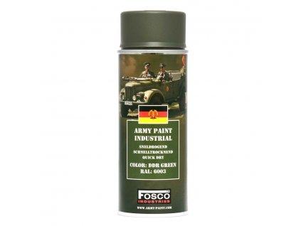 Barva ve spreji ARMY DDR green 400ml RAL 6003