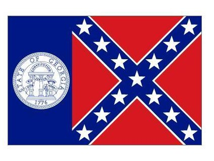 Vlajka 90x150cm Georgia č.220
