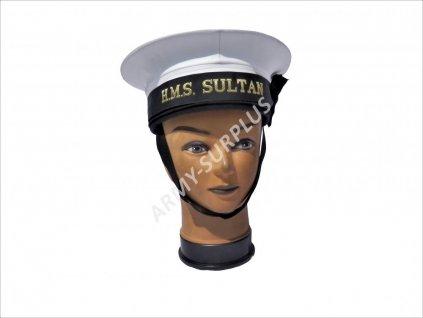 Čepice námořní H.M.S. Sultan Anglie (Velká Británie) HMS Sultan Royal Naval