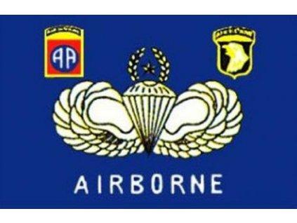 Vlajka Airborne 90x150cm č.107
