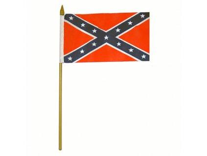 Praporek Konfederace  s podstavcem