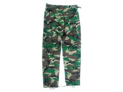 Kalhoty woodland BDU kapsáče