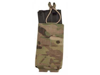 Sumka na dva zásobníky M4 /M16 Open Laser multicamo molle ALP FENIX PM-112