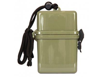 Krabička vodotěsná zelená 101 INC oliv