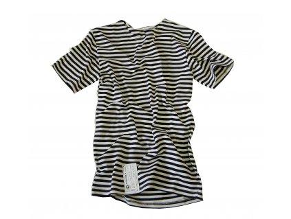Tričko (triko) ruské námořnické krátký rukáv černé originál MORPECH - SPECNAZ