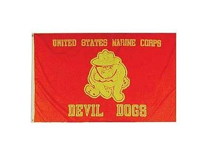 Vlajka 90x150cm USMC DEVIL DOGS č.219