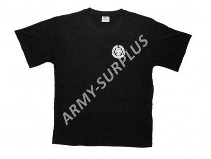 Tričko (triko) potisk Afrikakorps černé