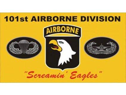 Vlajka 90x150cm 101 airborne žlutá č.210