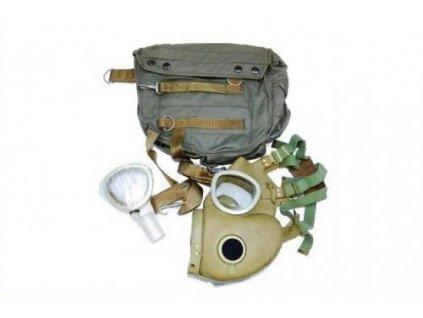 Plynová maska Polsko MP4 buldok (bulldog) zelená