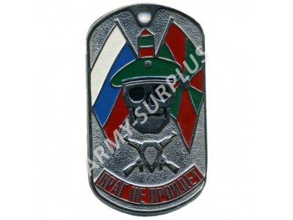 Ruské identifikační známky ID Dog Tags č.22