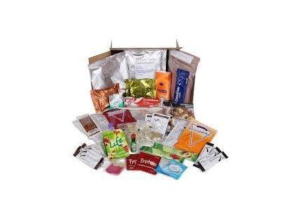 Bojová dávka potravy UK 24 Hour Ration Pack (MRE,BDP) Velká Británie originál