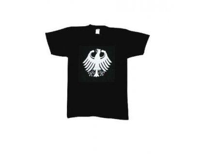 Tričko (triko) potisk černé bílá orlice