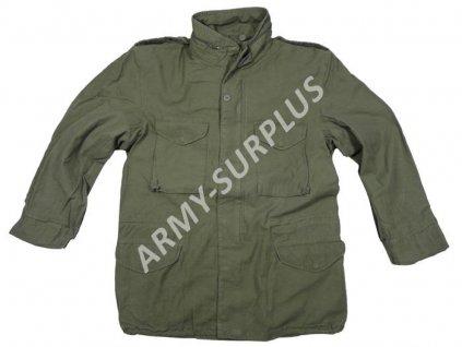 Polní kabát, bunda (parka) M65 oliv Teesar předepraná
