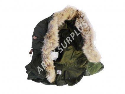 Kapuce US Hood M51 M65 šosák Extreme Cold Weather oliv originál s vlkem