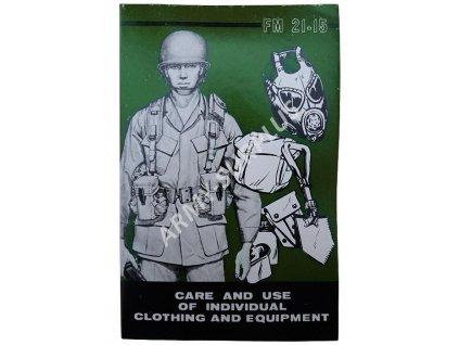 Instruktážní manuál výstrojních součástí U.S. Army 1982