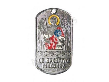 Ruské identifikační známky ID Dog Tags č.1