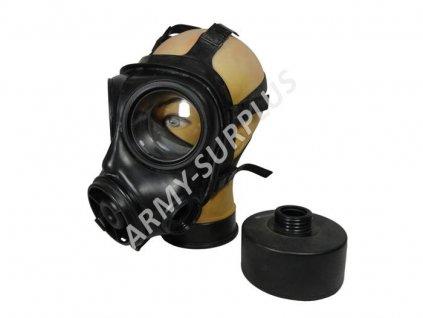 Plynová maska Avon S10 Velká Británie/Holandsko s pouzdrem DPM