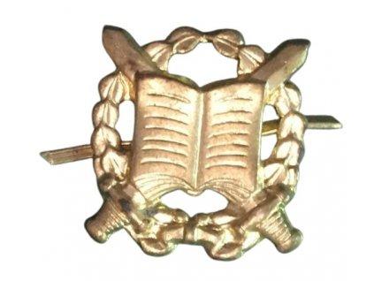 Odznak rozlišovací spisová a archivní služba zlatový (zlatý) AČR