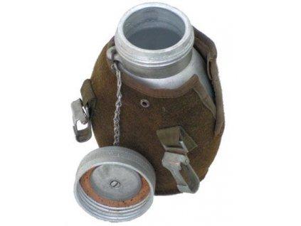 Polní láhev (čutora) hliník Polsko s obalem