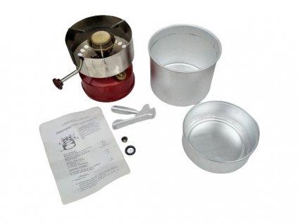 Vařič tlakový mosazný petrolejový BAT MEVA GD