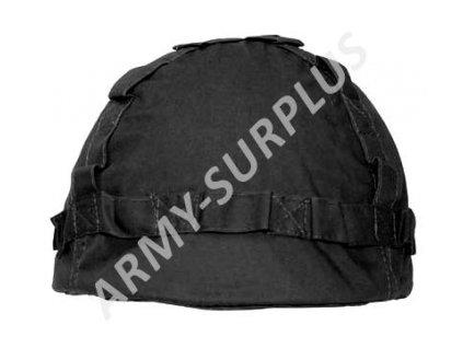 Potah (povlak,obal,převlek) na helmu černý