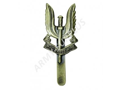 Odznak na baret SAS