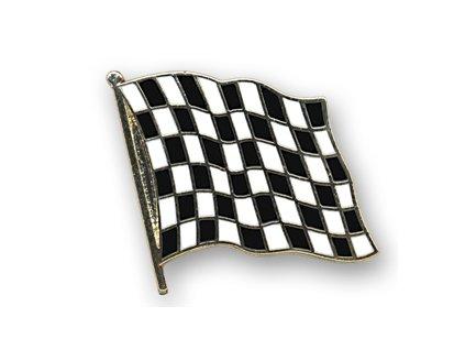Odznak (pins)  20mm praporek Cílový