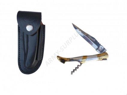 Nůž zavírací s vývrtkou Laguiole