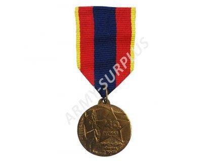 Medaile 40.výročí Vítězného února 1948